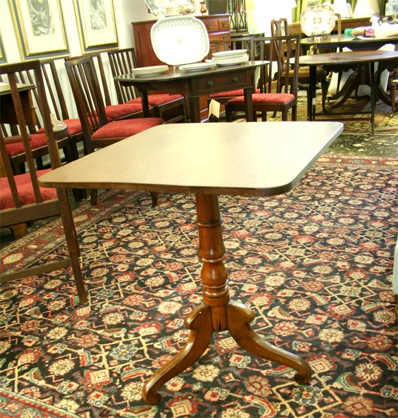 Tilt Top Tea Table At 1stdibs