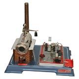 Fantastic 50's German Toy Steam Engine