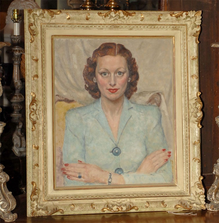 American Mid 20th Century Portrait of a Woman