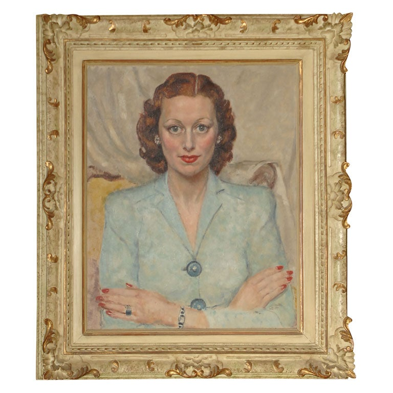 Mid 20th Century Portrait of a Woman