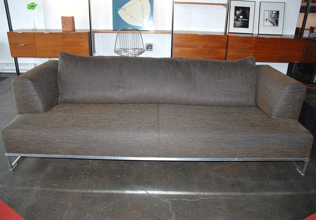solo sofa by antonio citterio for b b italia at 1stdibs. Black Bedroom Furniture Sets. Home Design Ideas