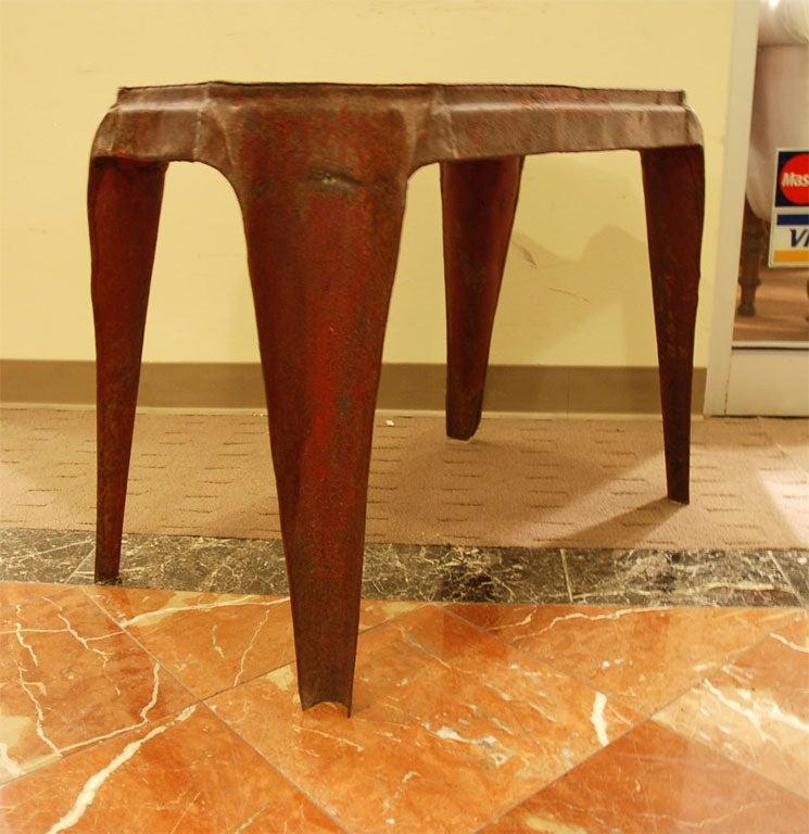 Unusual Metal Coffee Table