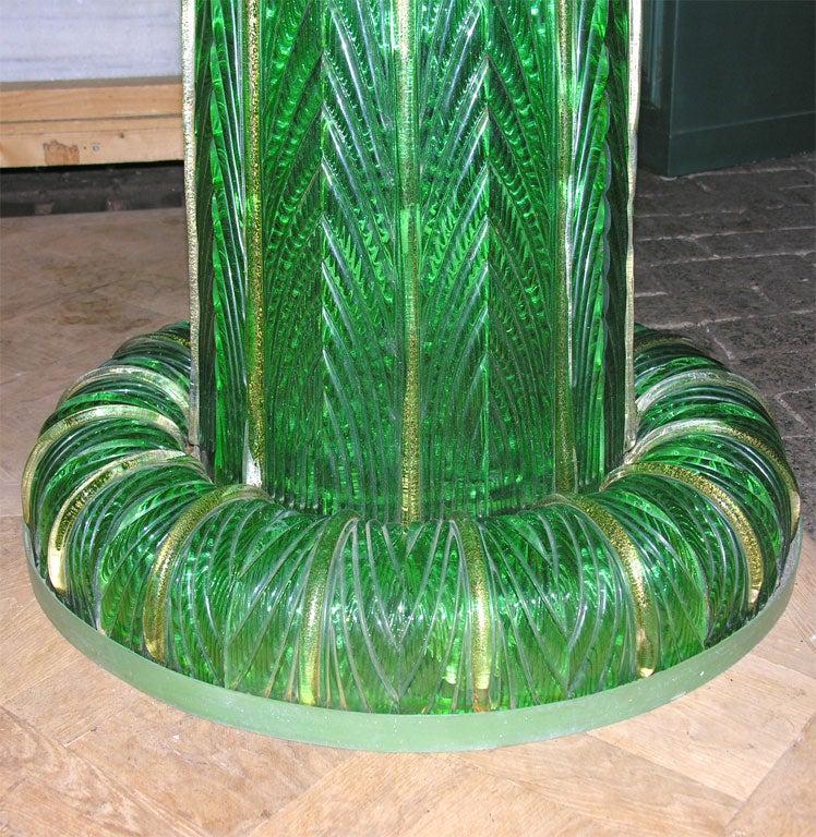 Italian Venetian Murano Glass Fountain For Sale