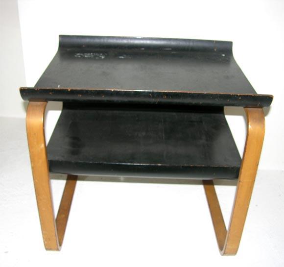vintage side table in manner of alvar aalto at 1stdibs. Black Bedroom Furniture Sets. Home Design Ideas