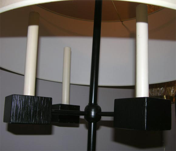 Mid-20th Century Pair of Classical Modern Candelabra Table Lamps For Sale