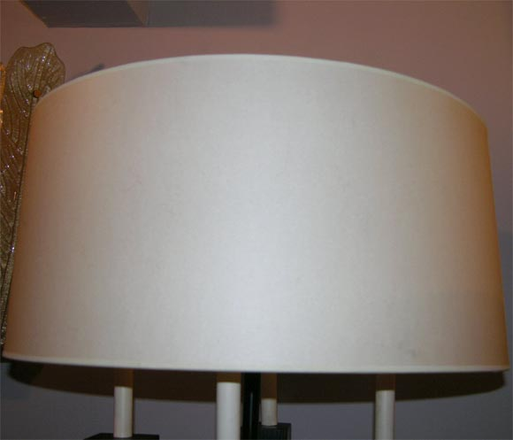 Pair of Classical Modern Candelabra Table Lamps For Sale 2