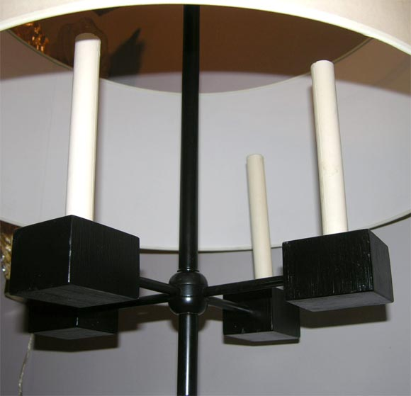 Pair of Classical Modern Candelabra Table Lamps For Sale 3