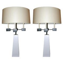 Pair of Classical Modern Candelabra Table Lamps