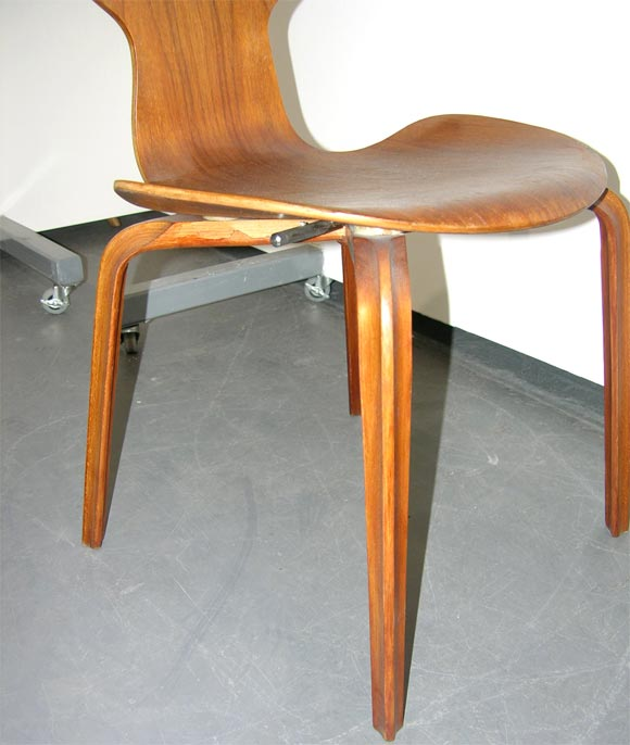 Set of six grand prix chairs by arne jacobsen at 1stdibs - Chaise grand prix jacobsen ...
