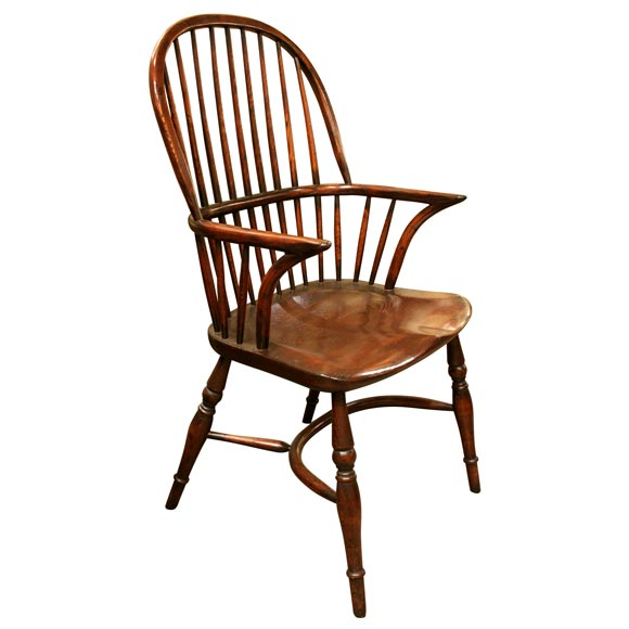 Superieur Twenty Four Early 19th Century Style English Windsor Chairs. For Sale