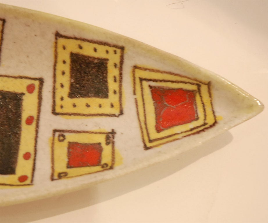 Mid-20th Century Gambone Platter For Sale