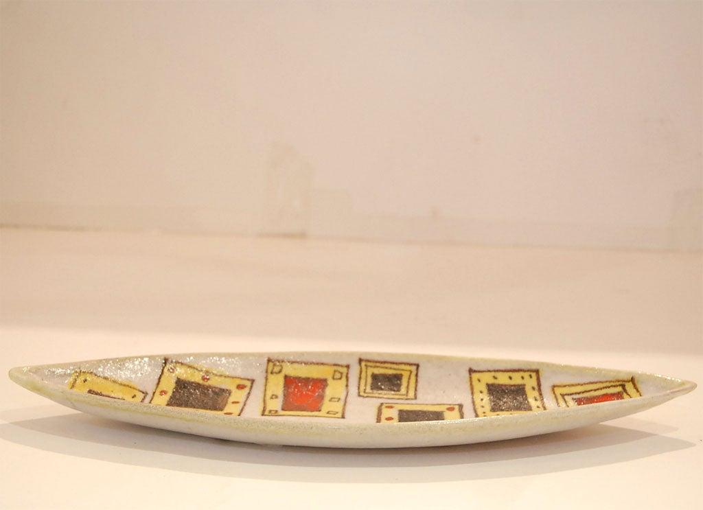 Ceramic Gambone Platter For Sale