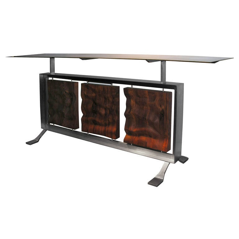 Unique console table by david mastny for sale at 1stdibs for Unique console tables for sale