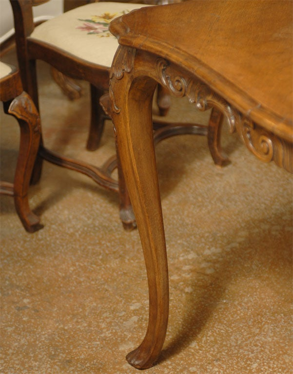 19th Century Venetain Table In Walnut Louis XV Style at  : abp255758 from www.1stdibs.com size 601 x 768 jpeg 72kB