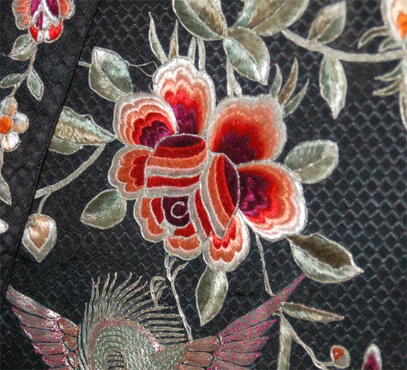 Silk Embroidered