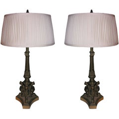 Pair of Classical Style Lamps