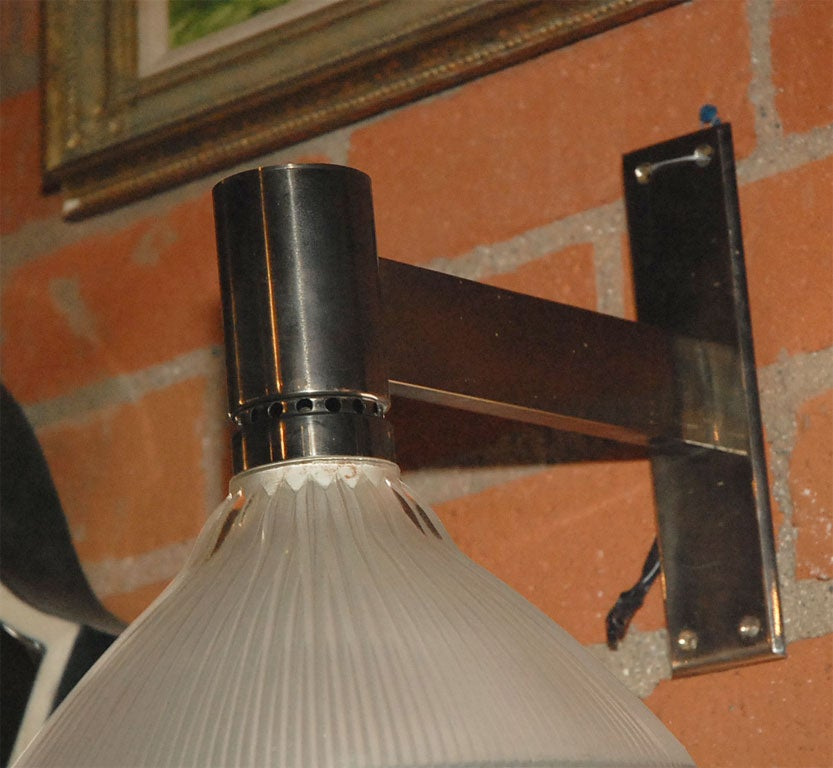 Pair of Artemide Sconces designed by BBPR Studios In Good Condition For Sale In Los Angeles, CA