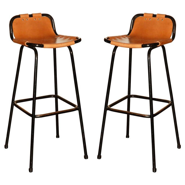 Charlotte Perriand Bar Stools At 1stdibs