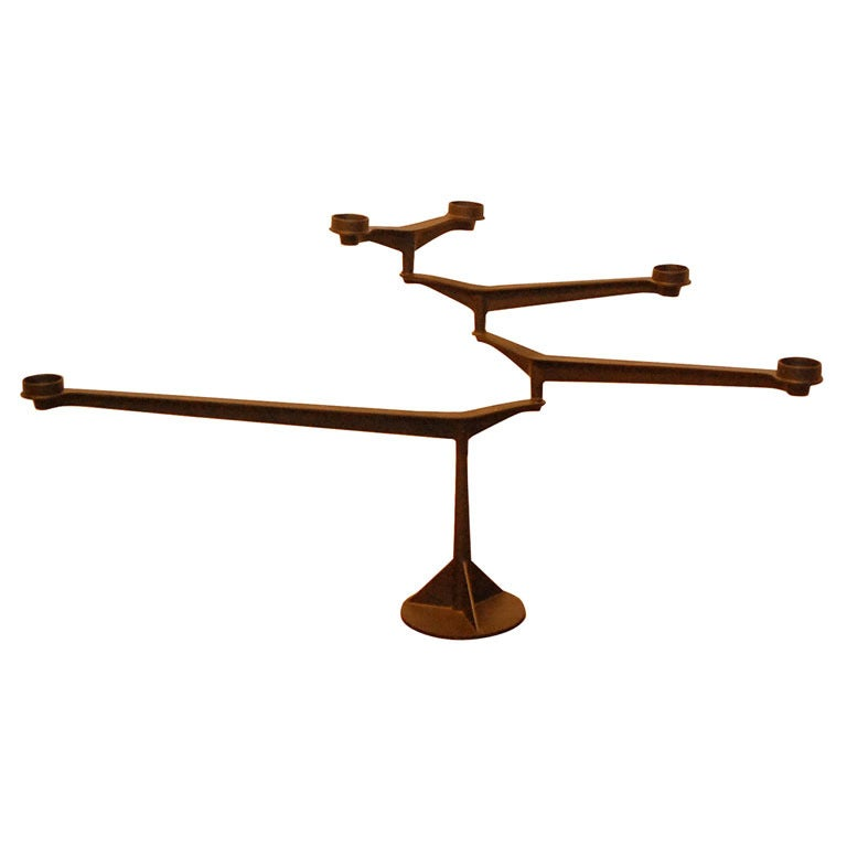 spin table candelabra by tom dixon at 1stdibs. Black Bedroom Furniture Sets. Home Design Ideas