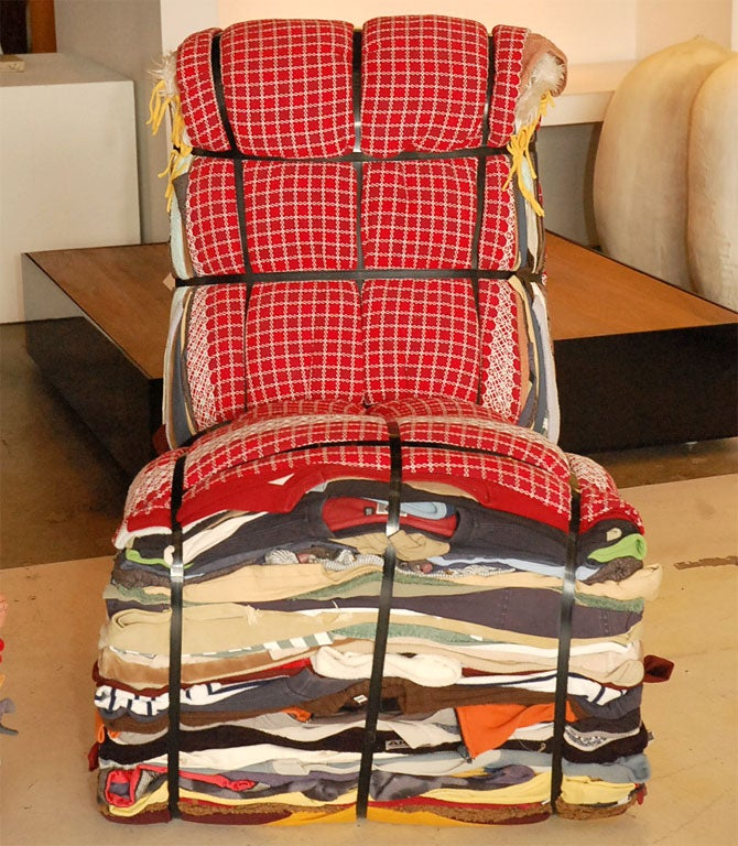 Rag Chair by Tejo Remy for Droog In Excellent Condition In Los Angeles, CA
