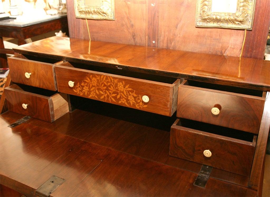 German Biedermeier Slant-Front Desk For Sale 1