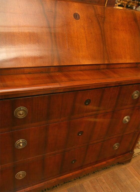 German Biedermeier Slant-Front Desk For Sale 3
