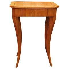Biedermeier Style Single Drawer Table