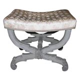 Antique Swedish Louis XVI Foot stool.