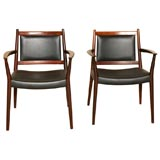 Pair of Armchairs by Steffan Larsen