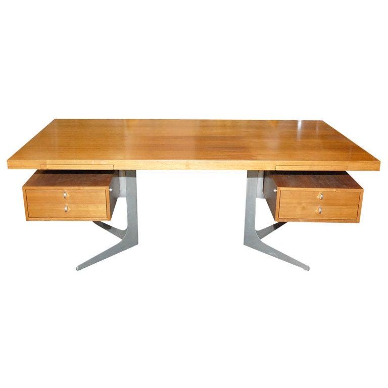 Herbert hirche desk by christian holzapfel at 1stdibs for Christian holzapfel