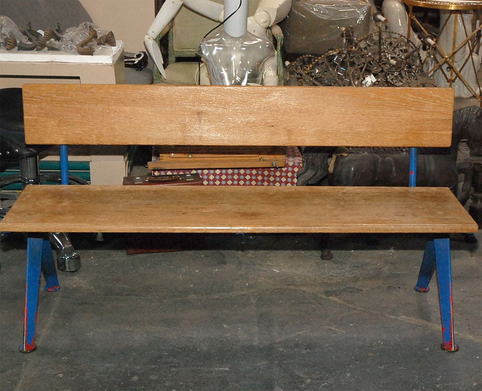 Jean Prouve Low Bench At 1stdibs