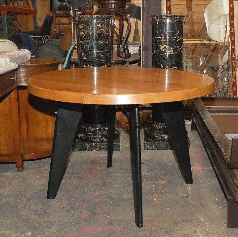 jean prouve table image 3. Black Bedroom Furniture Sets. Home Design Ideas