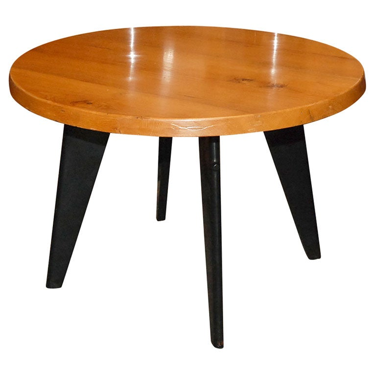 jean prouve table at 1stdibs. Black Bedroom Furniture Sets. Home Design Ideas