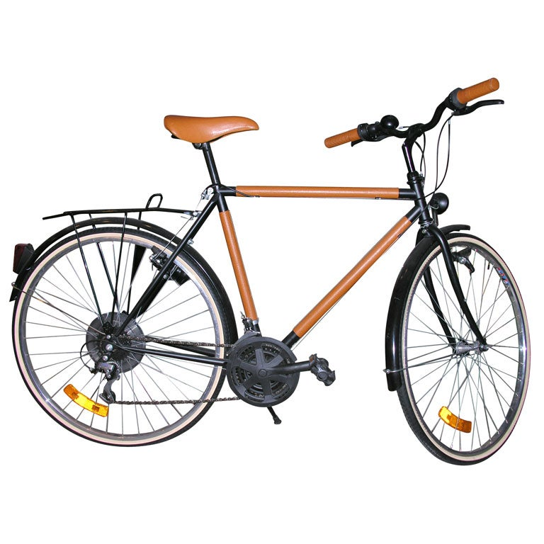 Vintage Hermes Paris Bicycle