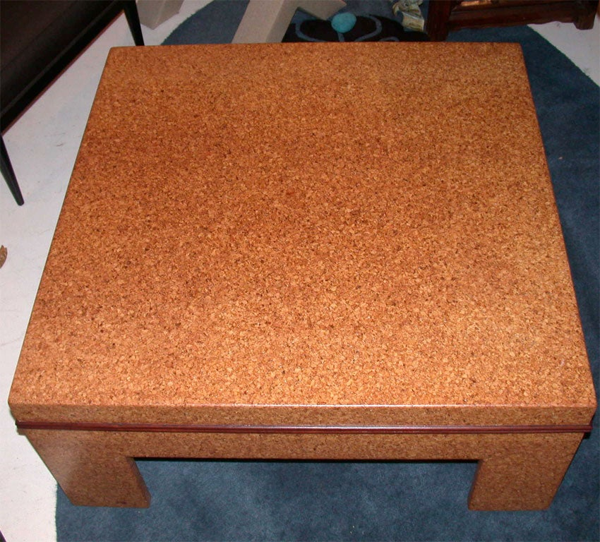 Cork Coffee Table By Paul Frankl Image 4