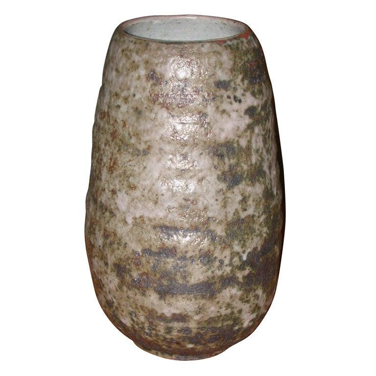 Ceramic Vase By Peter Lane At 1stdibs