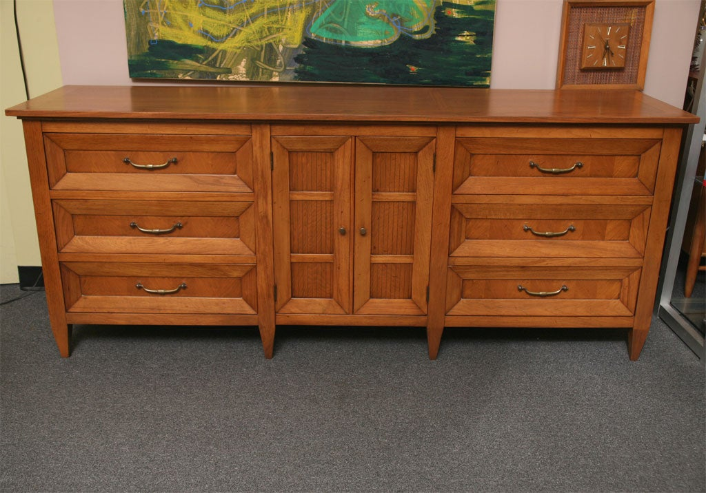 Very Fine Walnut Dresser By Tomlinson At 1stdibs