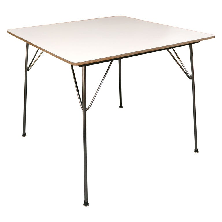 Vintage Eames DTM Folding Dining Card Table at 1stdibs : x from 1stdibs.com size 768 x 768 jpeg 25kB
