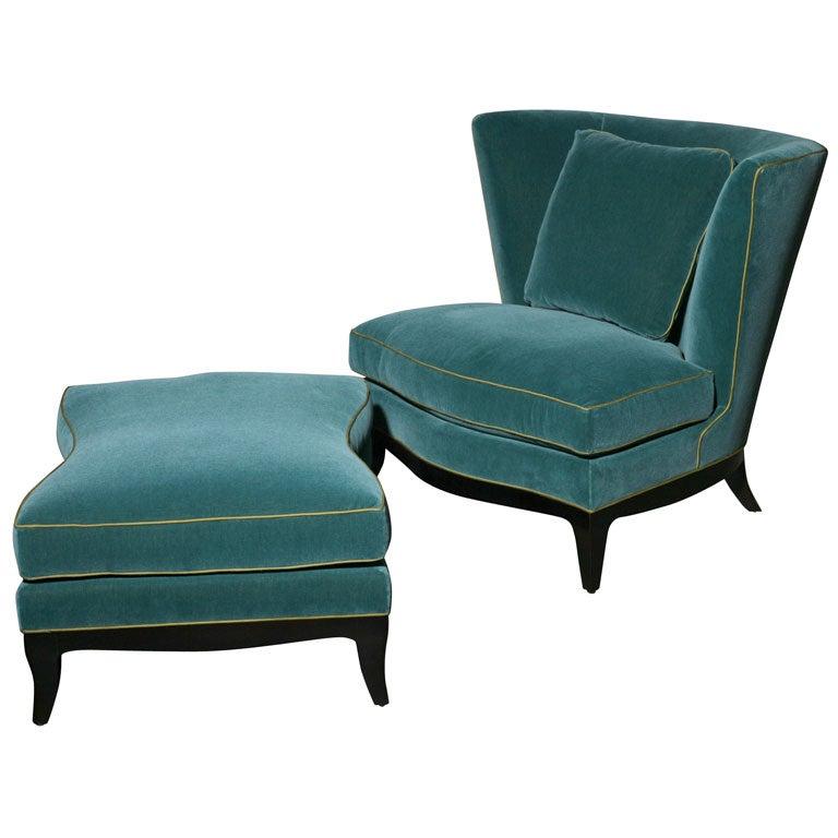 Pair Of Donghia Geneva Club Chairs 1