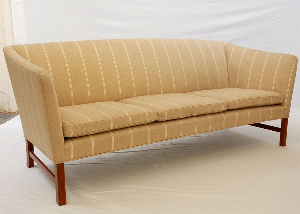 Ole Wanscher sofa produced by A.J. Iversen.     Store formerly known as ARTFUL DODGER INC