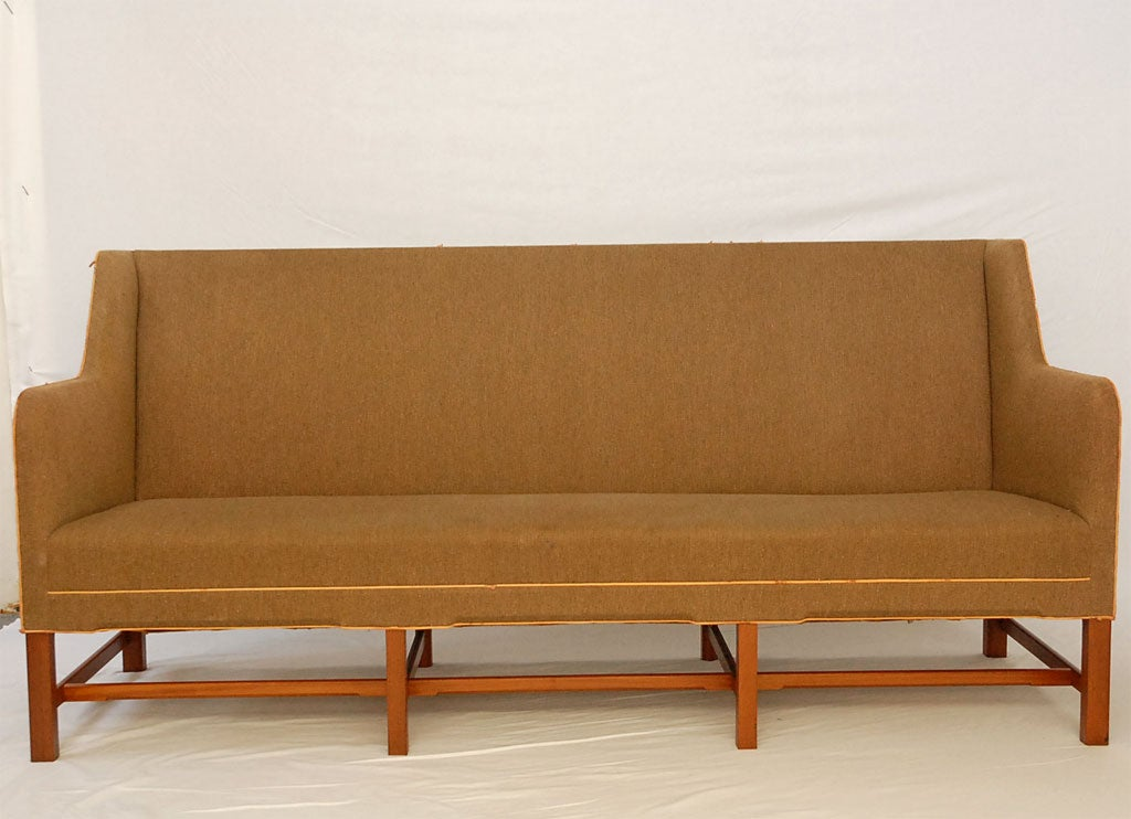 Kaare Klint Sofa In Excellent Condition For Sale In Los Angeles, CA