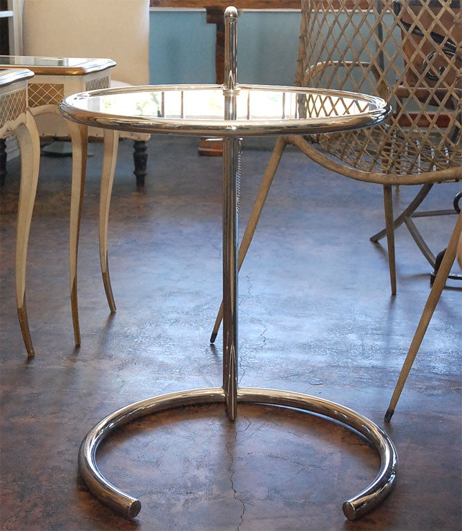 Pair of e 1027 side tables in the style of eileen gray at - E 1027 table by eileen gray ...