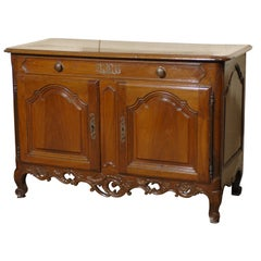 Provencal Louis XV Period Buffet in Walnut, France c. 1750