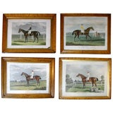 Set of Four 19th Century Equestrian Prints