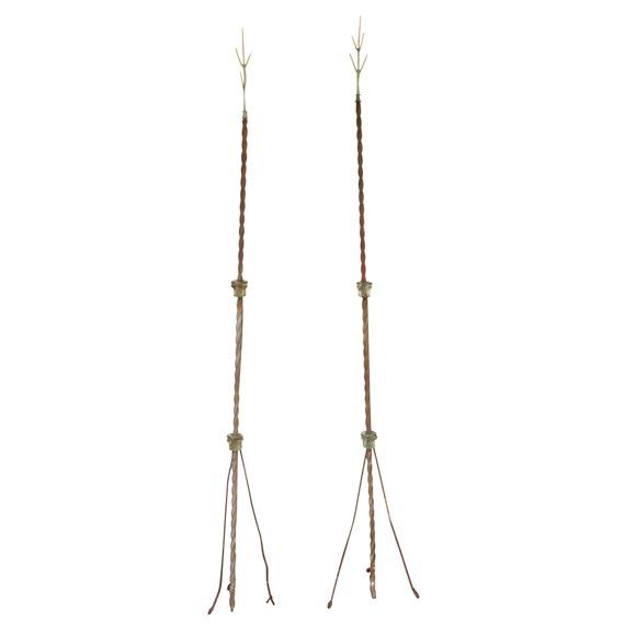 pair of lightning rods at 1stdibs