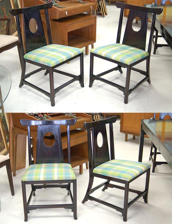 moderne asian dining room set at 1stdibs. Black Bedroom Furniture Sets. Home Design Ideas