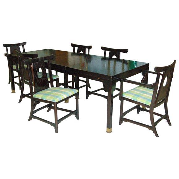 moderne asian dining room set at 1stdibs