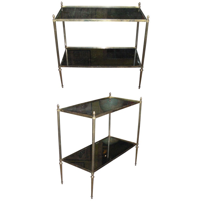 Two 1940s End Tables At 1stdibs