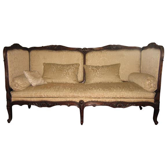 large louis xv style banquette at 1stdibs