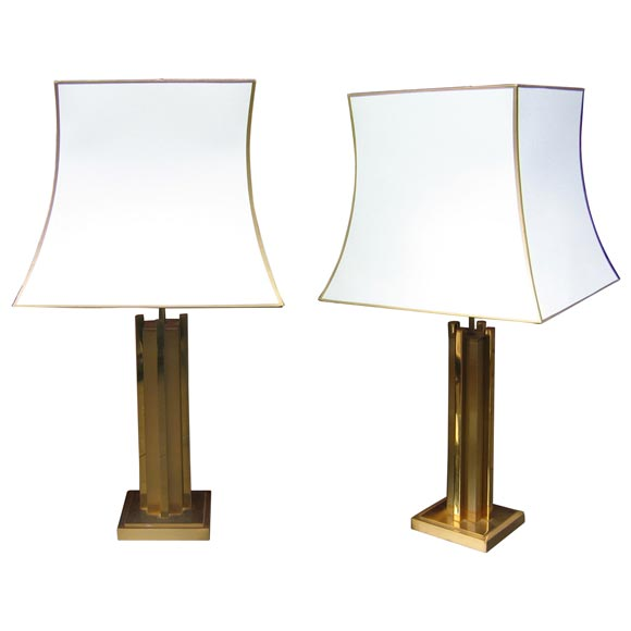 Two 1970s Lamps At 1stdibs